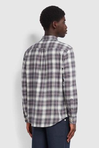 Farah Grey Bushell Check Shirt