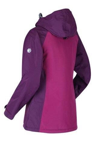 Regatta Purple Voltera Protect Heated Waterproof Jacket