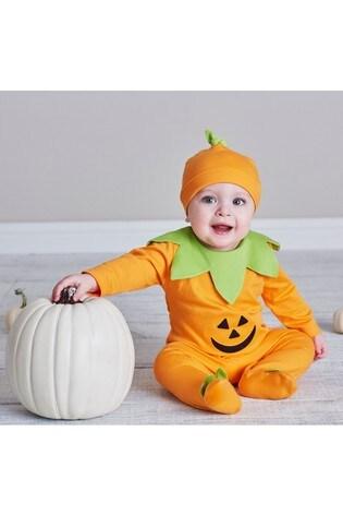 Kissy Kissy Pumpkin Babygrow