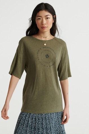 Superdry Desert Linen T-Shirt