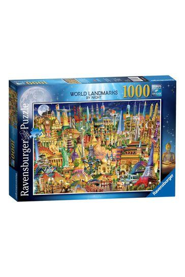 Ravensburger World Landmarks at Night 1000pc Jigsaw Puzzle