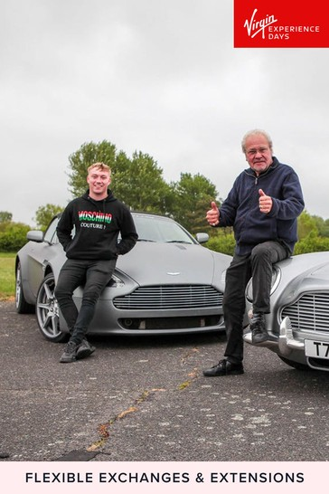Drive An Aston Martin Replica DB5 And V8 Vantage Gift by Virgin Experience Days