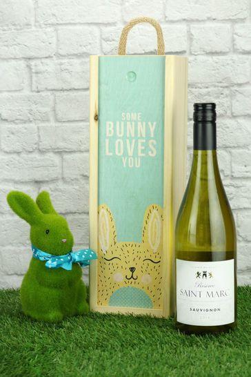 Some Bunny Loves You French Sauvignon Gift Set by Le Bon Vin