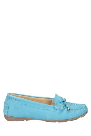 Hush Puppies Blue Maggie Slip-On Toggle Shoes