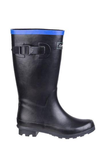 Cotswold Black Fairweather Junior Wellington Boots