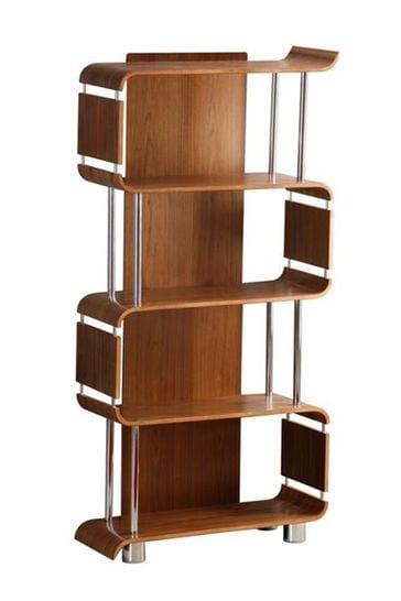 Helsinki Bookshelf Walnut by Jual