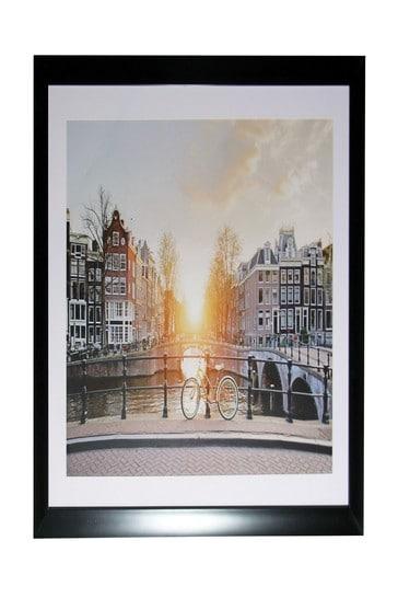 Amsterdam Sunset Framed Print by Arthouse