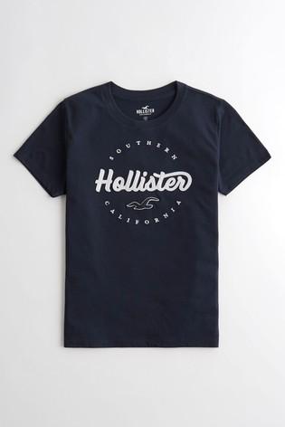 Hollister Navy Core T-Shirt