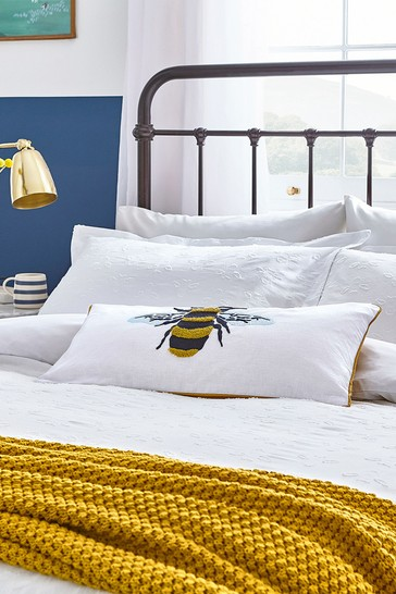 Joules Botanical Bees Pillowcase