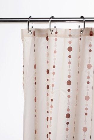 Croydex Dotty Shower Curtain