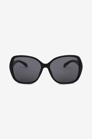 Black Link Arm Sunglasses