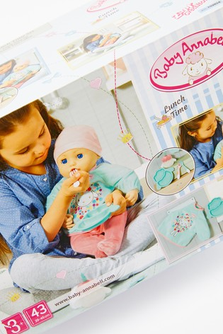 Buy Baby Annabell Lunch Time Feeding Set from the Next UK ...