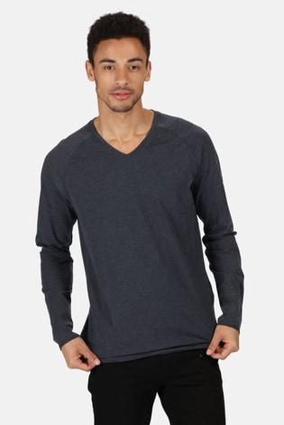 Regatta Kiro II V-Neck Long Sleeve T-Shirt