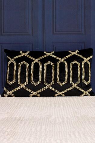 Riva Home Black Chrysler Cushion