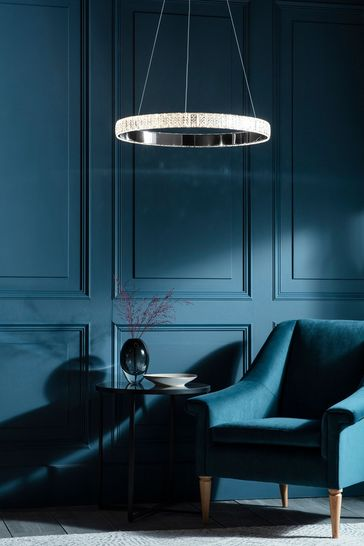 Cerys 1 Pendant Light by Gallery Direct
