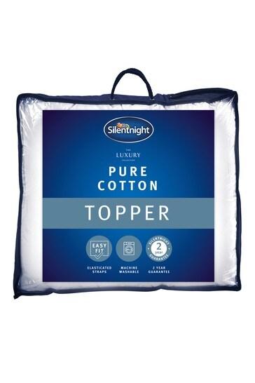 Pure Cotton Mattress Topper by Silentnight