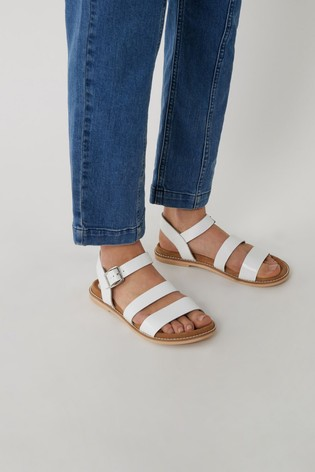 Warehouse Multi Strap Footbed Mules