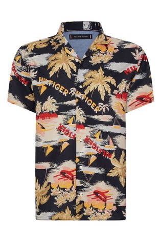 Tommy Hilfiger Hawaiian Print Summer Shirt
