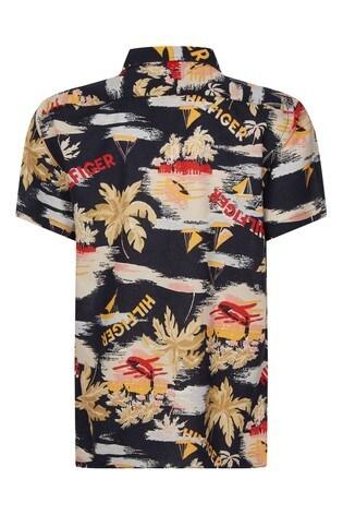 Tommy Hilfiger Hawaiian Print Summer Shirt