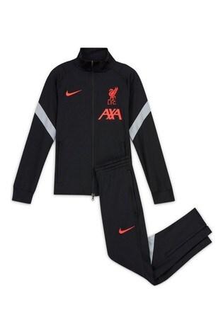 Nike Black Liverpool Strike Tracksuit