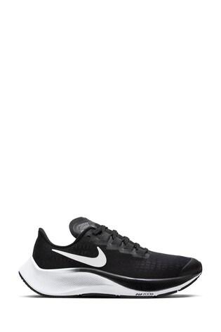 Nike Run Black/White Zoom Pegasus 37 Youth Trainers
