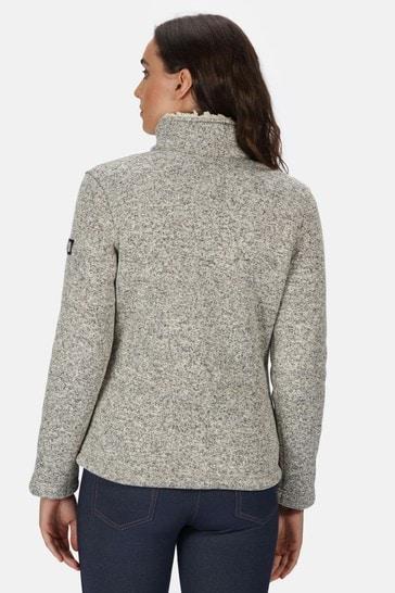 Regatta Cream Razia Full Zip Fleece Jacket