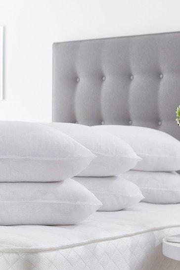 6 Pack Bounceback Pillows by Silentnight
