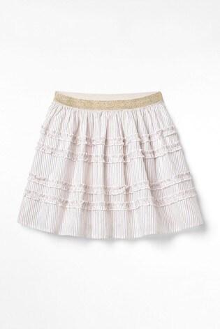 White Stuff Natural Kids Shimmer Sparkle Skirt