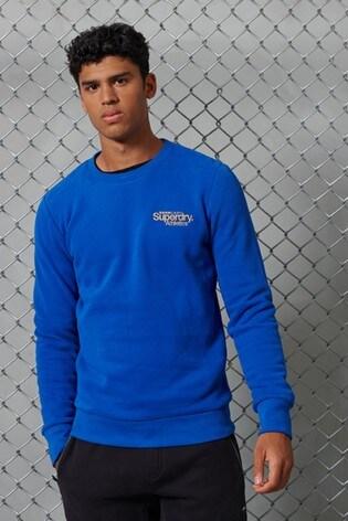 Superdry Classic Logo Athletics Crew Sweatshirt