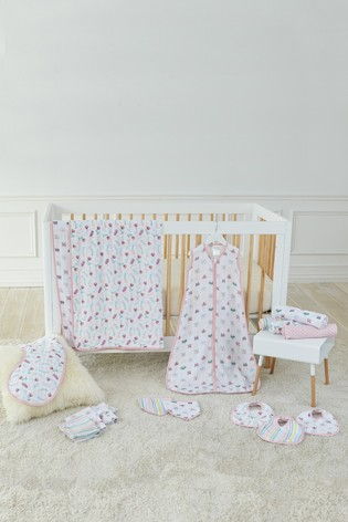 aden + anais Floral Fauna Essentials Muslin Swaddle Blankets Four Pack