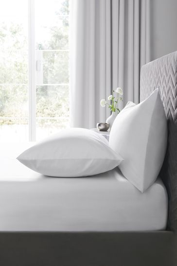 Antibacterial Easy Care Polycotton Fitted Fitted Sheet