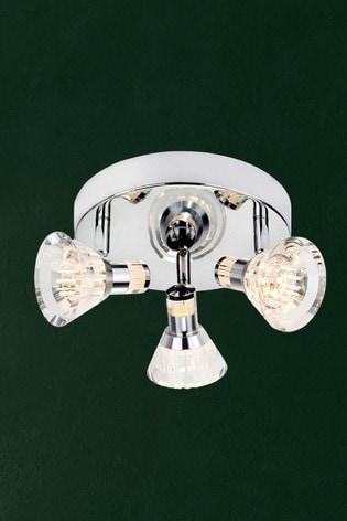 Jewel 3 Light LED Spot Plate by Searchlight