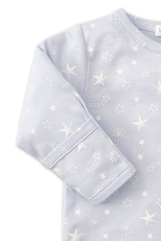 Kissy Kissy Blue Starry Sky Babygrow