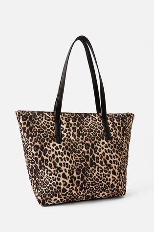 Accessorize Tilly Leopard Print Tote Bag