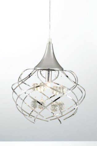 Village At Home Chrome Mays Drop Ceiling Fitting