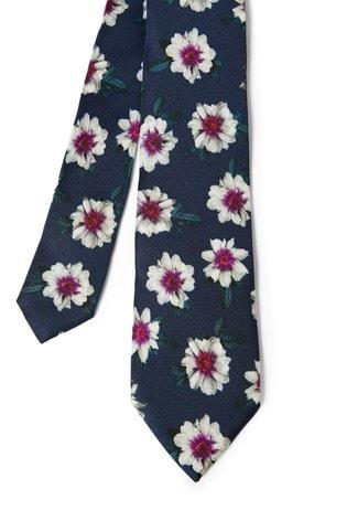 Ted Baker Reed Floral Print Silk Tie