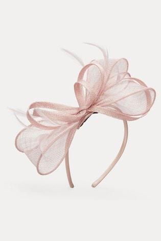 Phase Eight Pink Marcella Headband Fascinator