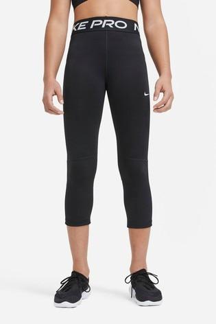 Nike Performance Black Pro Capri Leggings