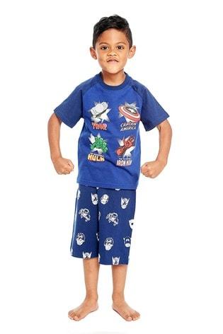 Fabric Flavours Blue Marvel® Avengers Heroes Pyjama Set