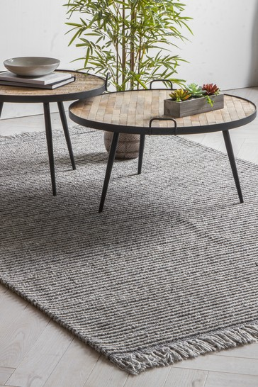 Gallery Direct Silver Marquis Rug