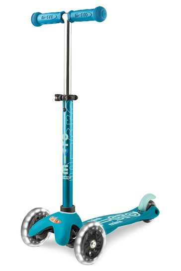 Micro Scooter Mini Deluxe LED Aqua Scooter 2-5 Years