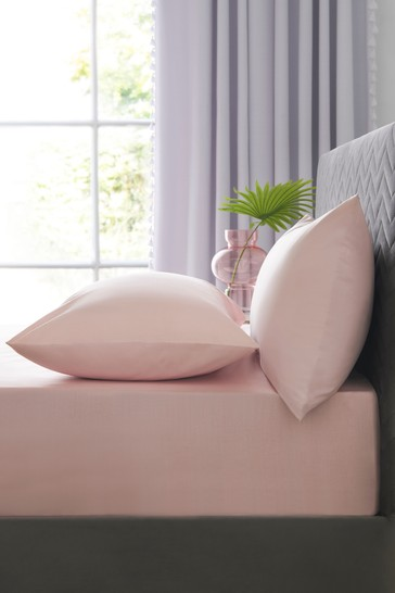 Antibacterial Easy Care Polycotton Deep Fitted Fitted Sheet