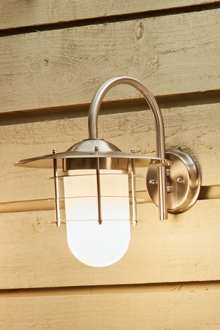 Opaque Glass Wall Light by Pacific