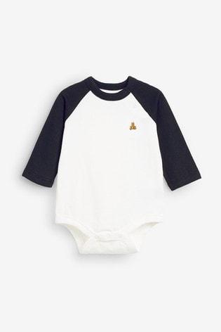 Gap Baby Long Sleeve Raglan Bodysuit