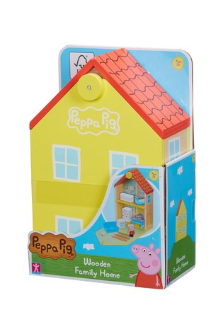 Peppa Pig Peppas Wood Play Family Home