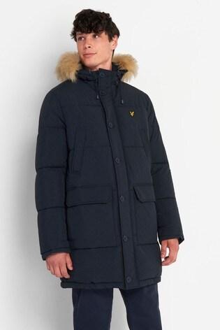 Lyle & Scott Longline Padded Jacket