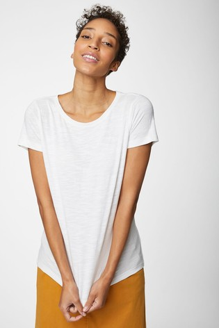 Thought White Fairtrade Organic Cotton T-Shirt