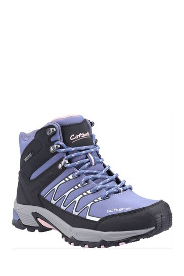 Cotswolds Blue Abbeydale Mid Hiker Boots