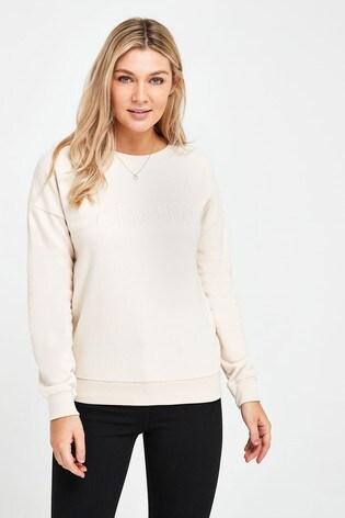 Ecru Clichè Graphic Sweatshirt