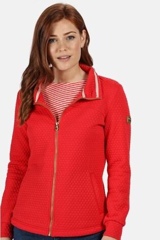 Regatta Red Sulola Full Zip Fleece